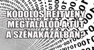 kódolós rejtvény - tű a szénakazalban