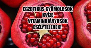 Egzotikus gyümölcsök kvíze. Van benned elég C vitamin? Különben nincs esélyed!
