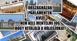 Országházak, parlamentek kvíze