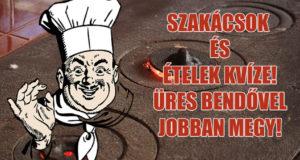 szakácsok és ételek kvíze