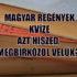 magyar regények kvíze